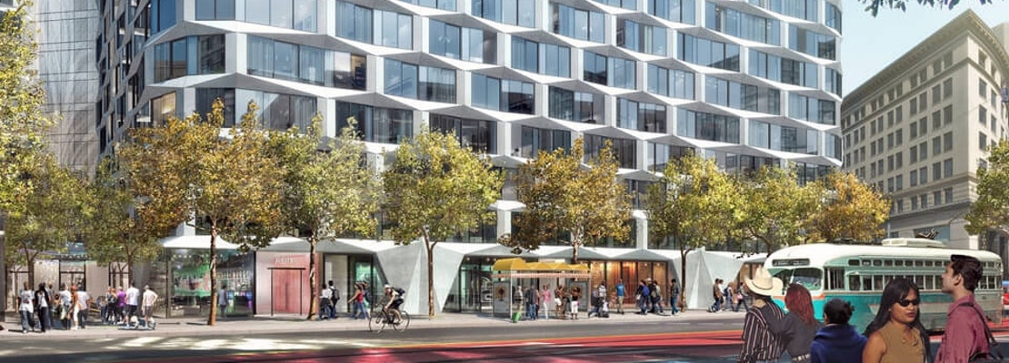 Group i Releases New Renderings Of Residential/Hotel Development At 950-974 Market