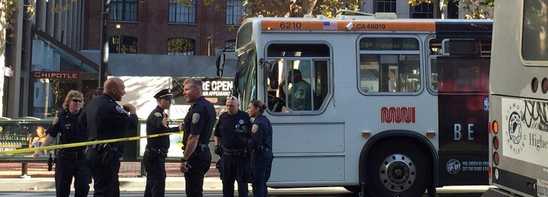 Muni Bus Hits & Kills Cyclist On Market Street [Updated]