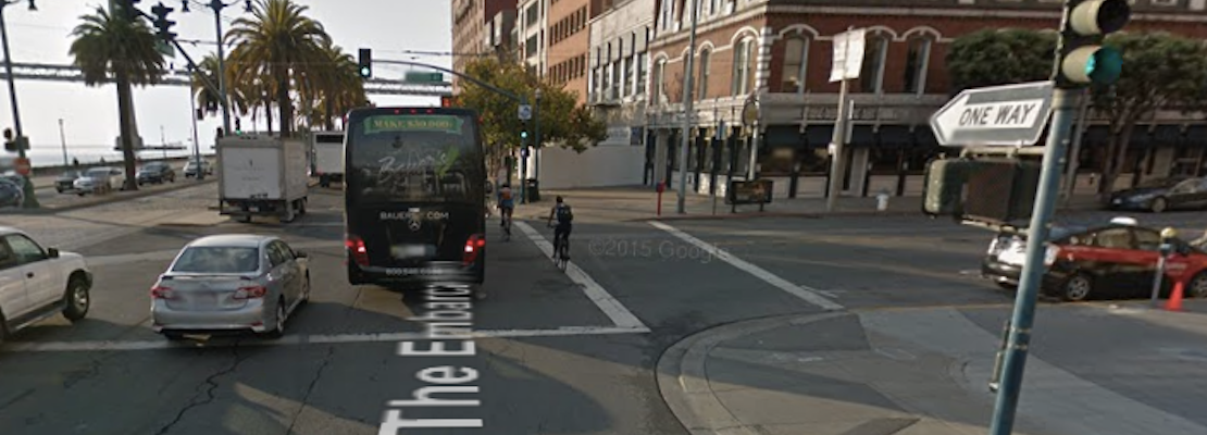 Cyclist Injured In Mission & Embarcadero Hit-And-Run [Updated]