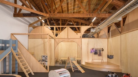 Santa Monica's new Big and Tiny is play area for kids, co-working space for parents