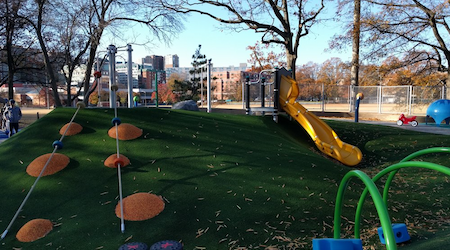 Great outdoors: The 4 best playgrounds in Arlington
