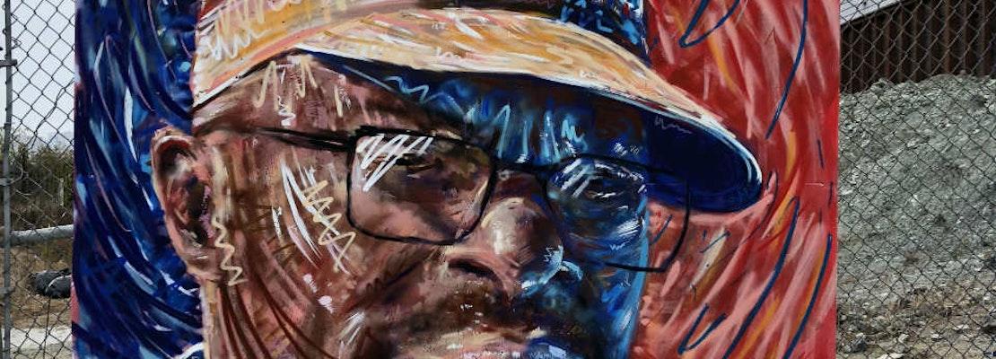 Artist Mitch Bierer talks new Alamo Square murals, SF's homelessness crisis