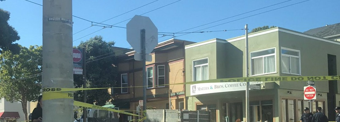Woman struck by truck in Bernal Heights suffers life-threatening injuries