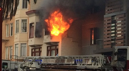 Fire Breaks Out At Dolores And Market