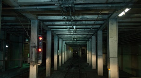 A Spooky Glimpse Inside An Abandoned Muni Station