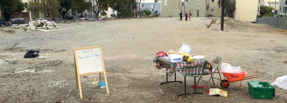 Parcel O Set To Become Temporary Arts Space 'Hayes Valley Art Works'