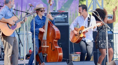 Scenes from the 2018 Hardly Strictly Bluegrass Festival