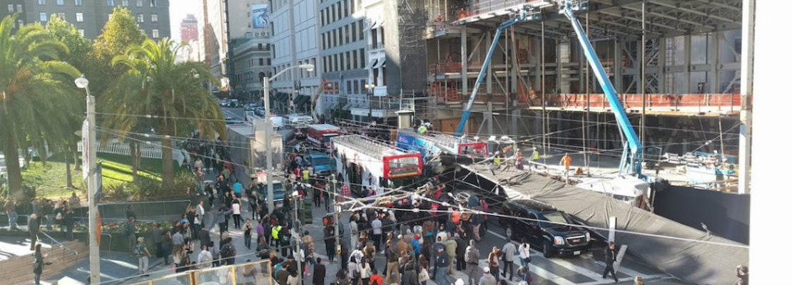 7 Critically Injured In Tour Bus Crash Near Union Square [Updated]