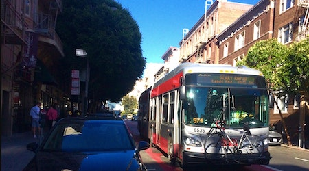 Construction kicks off on first phase of Muni's 38-Geary Rapid Project