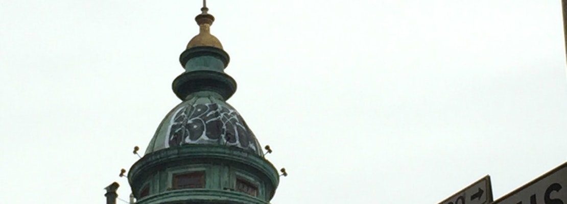 Dome Of Coppola's Photogenic Sentinel Building Marred By Tagger