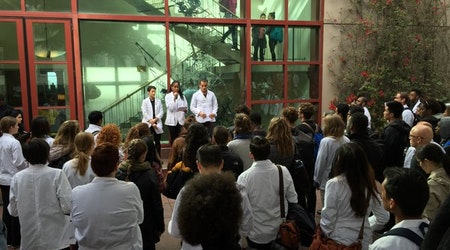 UCSF Medical Students Protest Racism and Police Violence