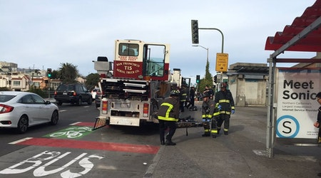 Man caught between platform and train at Balboa BART station; trains delayed in all directions