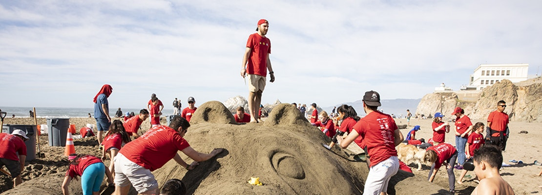 Scenes from the 36th annual Leap Sandcastle Classic
