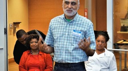 Oakland mayoral candidate Saied Karamooz pushes for public bank, police accountability