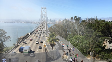 Proposal for full Bay Bridge bike path gains steam, but needs cash