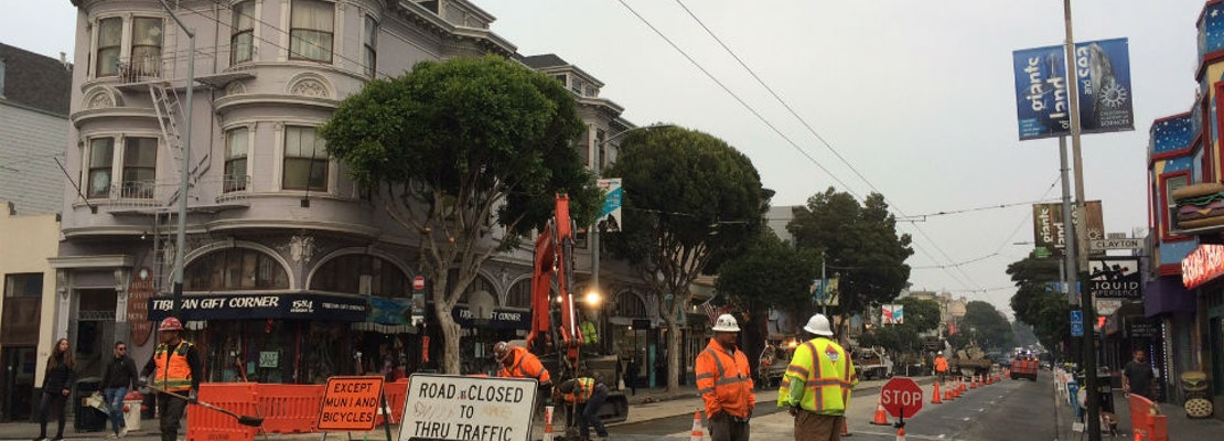 Upper Haight infrastructure project to go dormant from Thanksgiving to New Year's