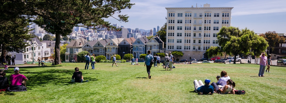 Alamo Square Renovations To Start In April, Closing Entire Park For 9 Months