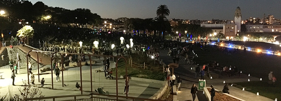 Scenes From Dolores Park's Reopening Celebration