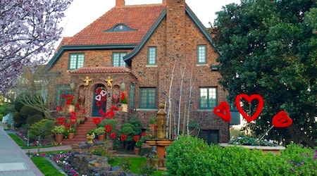 The Story Of Corona Heights' 'Storybook House' And Its Holiday Decor