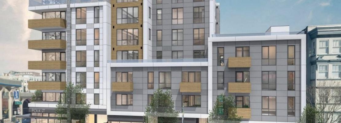 Despite Design Concerns, Planning Commission Approves 63 Units At Polk & California