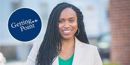 A discussion with Congresswoman-elect Ayanna Pressley, and other civic events in Boston this week