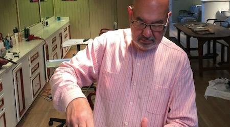 John Velasquez Salon Leaving Jackson Square After 33 Years
