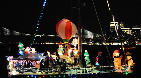 SF Weekend: Lighted Boat Parade, Salsa Night, All-You-Can-Eat Crab Feast, More