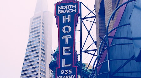 North Beach Week: Easter Events, Neon Robot Iceberg, Women Gettin' Witty, More