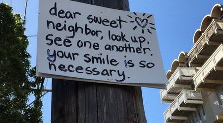 Spotted: Dear Sweet Neighbor ...