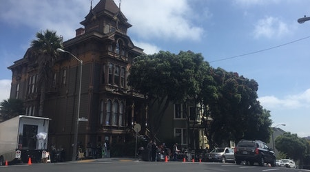 Netflix Series 'Sense8' Filming At Alamo Square's Westerfeld House