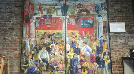 North Beach History: Why Al's Attire Has A Mural From The Old Spaghetti Factory