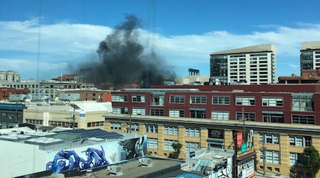 Rooftop BBQ Sparks Fire In SoMa