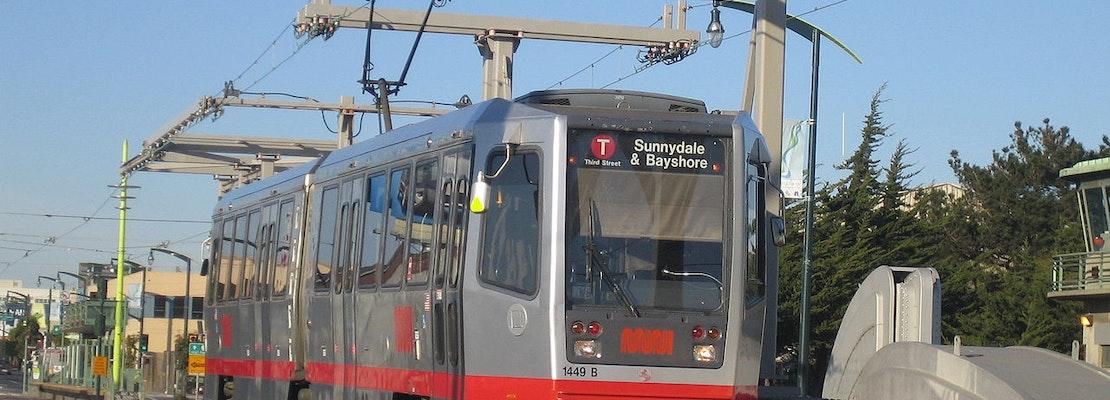 Muni's T-Third line switching to bus shuttles starting January 22