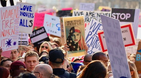 Scenes from the 2019 Women's March San Francisco