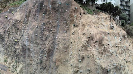 Construction Worker Rescued After Falling From Cliff Near Coit Tower [Updated]
