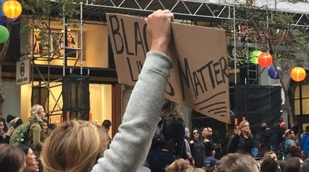 Hundreds Gather In SF For Black Lives Matter Rally Against Police Brutality
