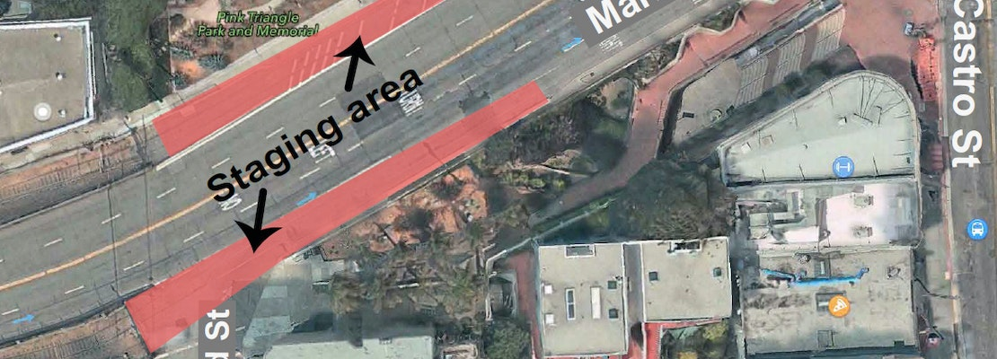 Twin Peaks Tunnel Construction Cometh; Staging Areas Established