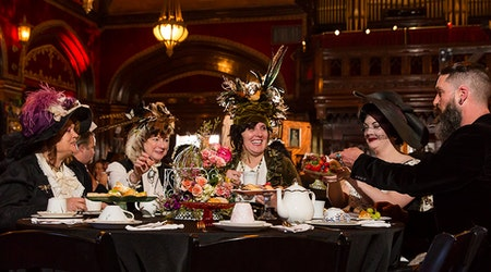 SF weekend: Edwardian Ball, Sketchfest's final shows, and a dance festival at Grace Cathedral