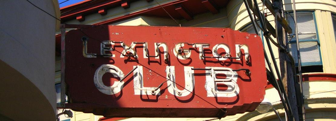 Plaque Unveiled To Commemorate The Lexington Club