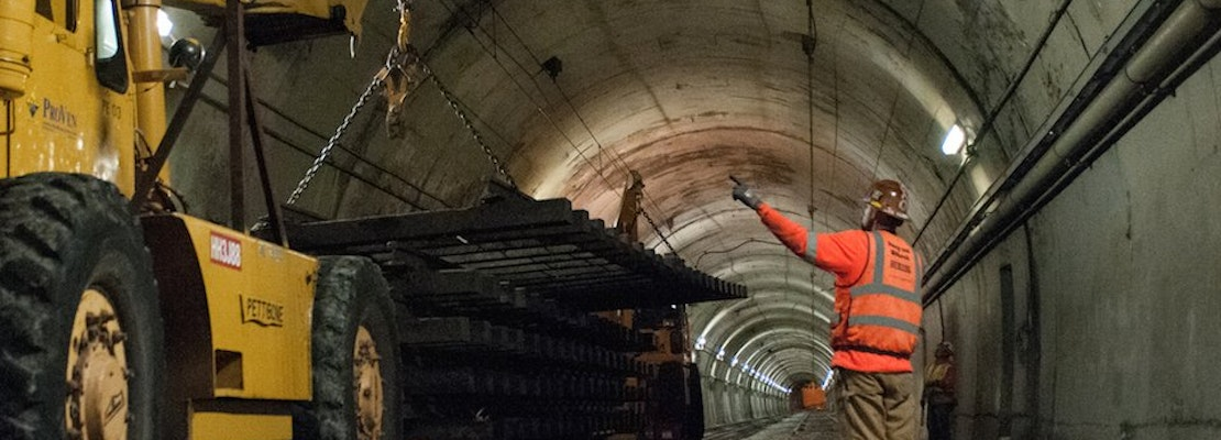 Crumbling Walls Mean More Construction, Higher Price Tag For Sunset Tunnel