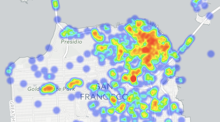 See SF's Top Film Locations, Heatmapped