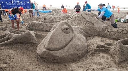 Scenes From Saturday's 34th Annual Leap Sandcastle Classic