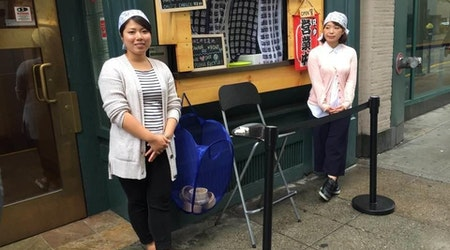 Financial District Workers Warmly Welcome Take-Out Window Touting $200 Sea Urchin