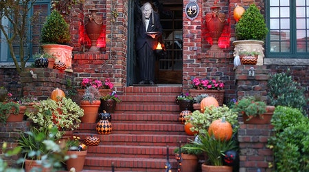 Ghosts, Goblins & Presidential Graveyards: Touring The Castro's Spookiest Halloween Displays