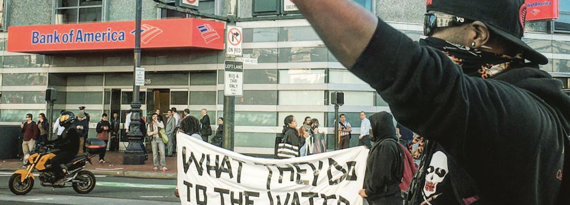 Standing Rock Pipeline Protesters Shut Down Van Ness & Market