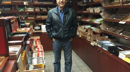 Humidor Cigar Shop Back In Business, After Long-Delayed Move