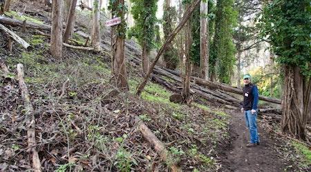 SF Urban Riders And Laguna Honda Open Up Long-Forgotten Trails