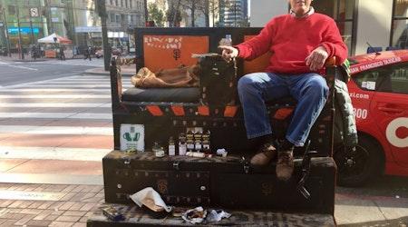 Theft, Vandalism, Dwindling Business Won't Keep Shoe Shiner Larry Moore Down