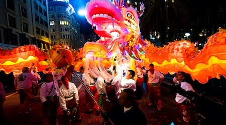 SF weekend: Chinese New Year Parade, charity plunge, Mardi Gras on Treasure Island