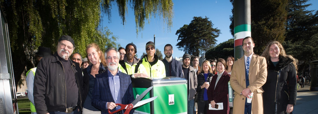 North Beach neighborhood groups join forces to install 'smart' trashcans